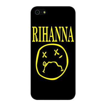 Nirvana Rihanna iPhone 5/5S/SE Case
