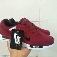 """NIKE"" Fashion Casual Breathable Unisex Lover Sneakers Running Shoes"