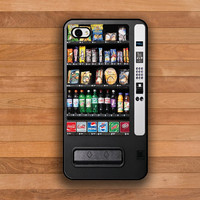 iphone 4 Case iphone 4s Case Snacks Vending Machine, iPhone hard case