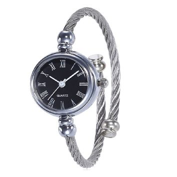 Simple Quartz Wristwatch For Women