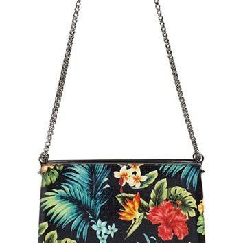 Christian Louboutin 'Large Triloubi - Hawaiian' Calfskin Leather Shoulder Bag | Nordst