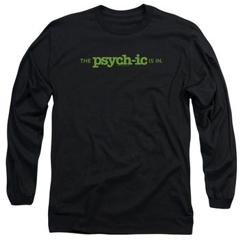 Psych - The Psychic Is In Long Sleeve Adult 18/1 Officially Licensed Shirt