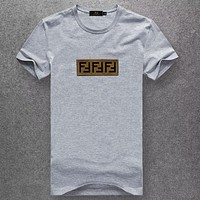 Boys & Men Fendi Fashion Casual Shirt Top Tee