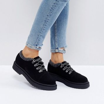 ASOS MARCHER Chunky Hiker Shoes at asos.com