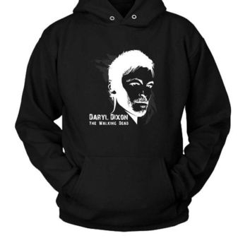 DCCK7H3 Daryl Dixon Hoodie Two Sided