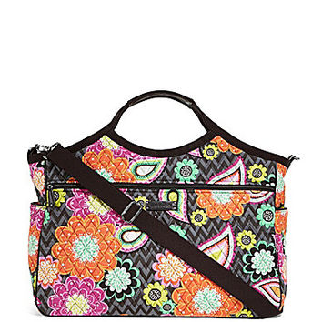 Vera Bradley Carryall Travel Bag - Ziggy Zinnias