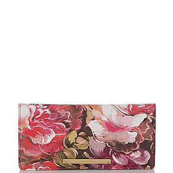 Brahmin Hemingway Collection Ady Floral Print Wallet