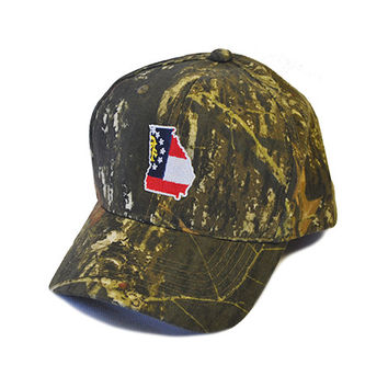 Georgia Traditional Youth Hat Camo