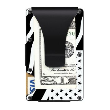 The Ridge Wallet with Money Clip - Stars And Strips