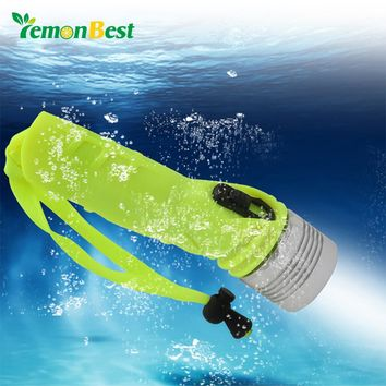 Ultra Bright Waterproof Torch Underwater Diving Powerful LED Flashlight Camping Light Battery Powered