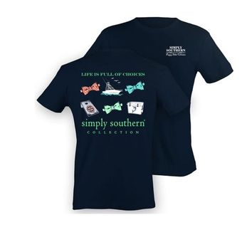 Palmetto Moon | Simply Southern Boat Choices T-shirt | Palmetto Moon
