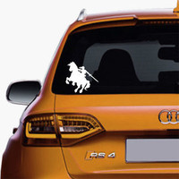 Link and Epona Legend of Zelda Sticker Decal For Car Truck SUV Window Decals