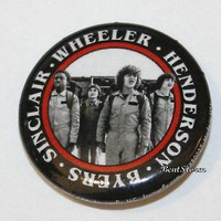 """Licensed cool Netflix Stranger Things Ghost Busters Dustin Mike Lucas Will 1 1/4"""" Pin Button"""