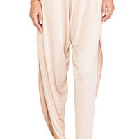 Rachel Pally Dean Open Side Pants in Blush