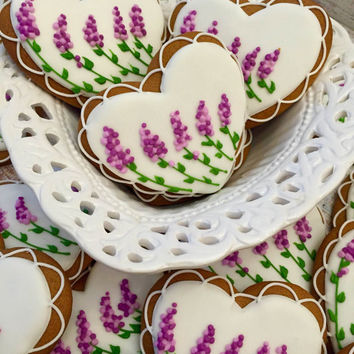 Lavender Cookies  (One dozen)