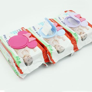 Baby Born Wipes Lid Baby Wet Mobile Wipes Cover Portable Child Wet Tissues Cover Cartoon Paper Lid Useful Accessories Baby Toys