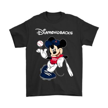DCCKON7 Baseball Mickey Team Arizona Diamondbacks Shirts