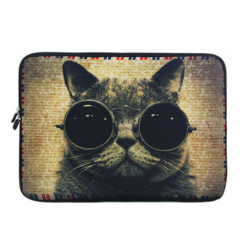 "COOL Cat 11.6"" 12"" Universal Laptop Sleeve Bag Case For Samsung Google 11.6"" Chromebook"
