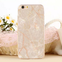 New Marble Stone Protect iPhone 7 7 Plus & iPhone se 5s & iPhone 6 6s Plus Case Cover -0321