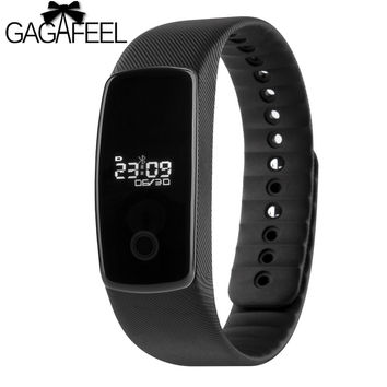 Real-time Heart Rate Monitor Smart Watch for Android IOS Life Waterproof Remote Camera Control Smart Wristband