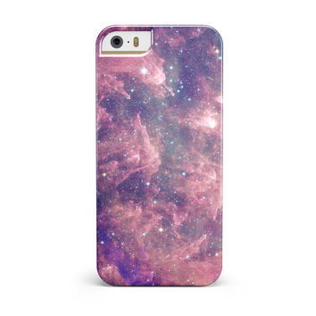 Vibrant Sparkly Pink Nebula iPhone 5/5S/SE INK-Fuzed Case
