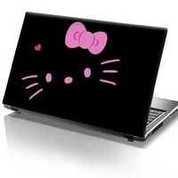 15'6 Inch Taylorhe laptop skin protective decal pink hello kitty
