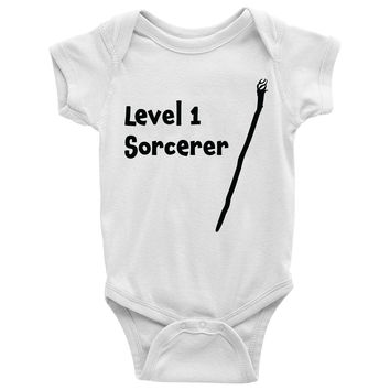 Level 1 Sorcerer Baby Onesuit