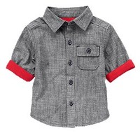 Jersey Lined Chambray Shirt