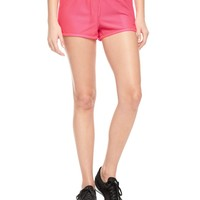 Flo Pink Honeycomb Mesh Short by Juicy Couture,