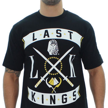 Last Kings Men's XXX Crew Neck T-Shirt