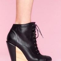 Sydney Wedge Boot in Shoes at Nasty Gal
