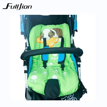 Thick Colorful Baby Infant floor Cushion Cotton Mat mat Breathable Stroller Padding Liner Car Seat Seat Pushchair Pram