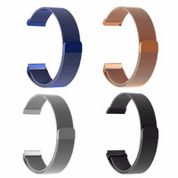 2016 New Luxury Milanese Magnetic Loop Stainless Steel Wristwatch Band Strap Link Bracelet Watchband For Fitbit Blaze Watch