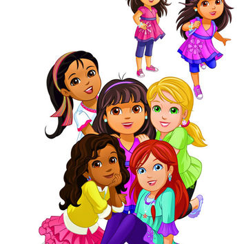 Dora Image, Dora Cutout,Dora and Friends Image,Nick Cartoon Image, Nick Cutout,Dora Template,Cartoon Cutout,Dora the Explorer Image,Kids TV