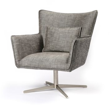 PRINCE SWIVEL CHAIR - RAVEN