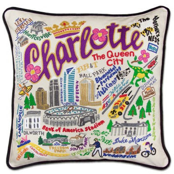 Charlotte Hand Embroidered Pillow