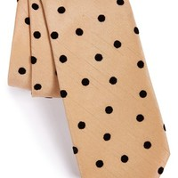 Men's ALEXANDER OLCH Small Polka Dot Cotton Tie