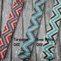 Chevron Beaded Headbands