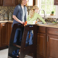 Guidecraft Step Up Kitchen Helper Espr - G97327