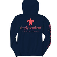 "Simply Southern ""Turtle Logo"" Hooded Long Sleeve"
