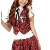 Atomic Naughty School Girl Costume