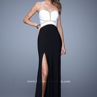 La Femme 21051 Sexy Cut Out Dress