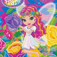 Lisa Frank Super Coloring and Activity Book: A Colorful World!