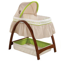 Summer Infant Bentwood Bassinet with Motion - Baby Time