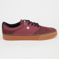 Dc Shoes Mikey Taylor Vulc Mens Shoes Burgundy  In Sizes