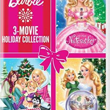 Diana Kaarina & Kelly Sheridan & Mark Baldo & Owen Hurley -Barbie: 3-Movie Holiday Collection Barbie: A Perfect Christmas / Barbie in a Christmas Carol / Barbie in the Nutcracker
