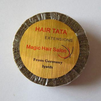 1.27cm*3 yards Hair TATA extensions tape lace front tape Magic Hair Salon from Germany