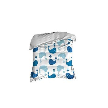 Whale Pattern Crib Comforter