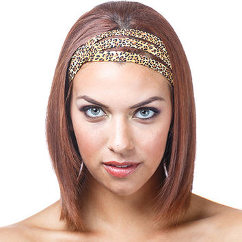 Fabulous Leopard Headband Unique Headbands From Jahanna Martinez Hairstyles For Men Maxibearus