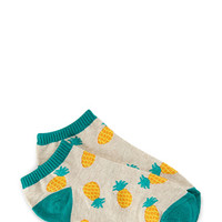 Pineapple Craze Ankle Socks